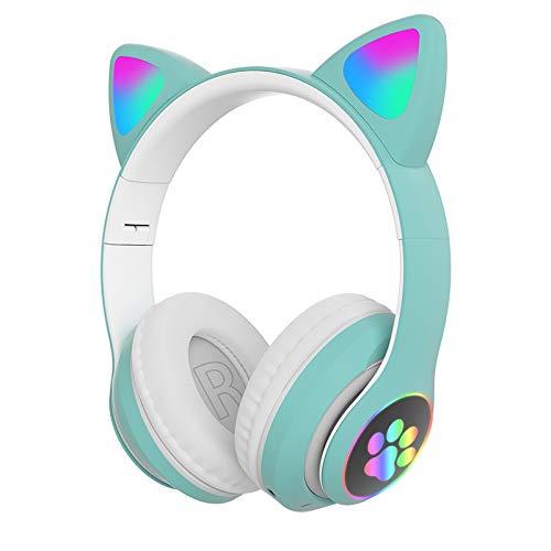 JJDN Bluetooth 5.0 Kattenoor Koptelefoon