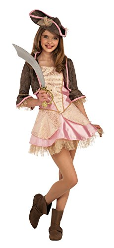 Pale Pink Pirate Teen Costumes - Rubie's Costume Co Pale Pink Pirate