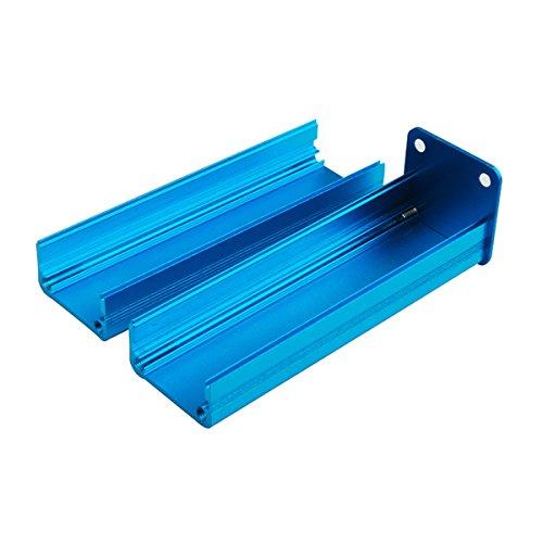 Eightwood Aluminum Project Box Electronic Enclosure Symmetrical Split Body Box- 3.15'' x 0.96'' x 0.94''(LengthWidthHeight)