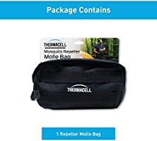 6877dc160392 Thermacell Mosquito Repeller Black MOLLE Carry Bag; Made from ...