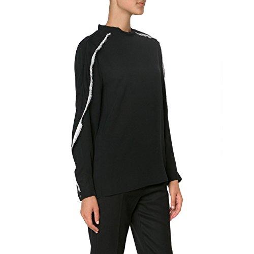31-phillip-lim-womens-black-distorted-ruffle-blouse-size-4-black