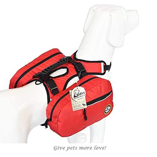 Saddle Bag Backpack for Large Dog