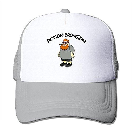 Cool Action Bronson Trucker Cap Baseball Hat (5 Colors) Ash ()