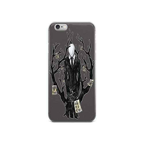 iPhone 6 Case iPhone 6s Case Clear Anti-Scratch Slenderman III Cover Phone Cases for iPhone 6/iPhone 6s, Crystal Clear