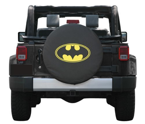SpareCover Brawny Series Tire Cover with Batman Classic Design at Gotham City Store