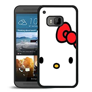 Fashionable And Unique Designed Case For HTC ONE M9 Phone Case With Hello Kitty Minimal Black