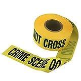 ''crime scene do not cross'' barricade movie prop tape ~ 50 FEET LONG!