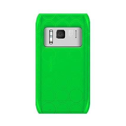 Amazon.com: Katinkas Soft Cover for Nokia N8 Tube - Green ...