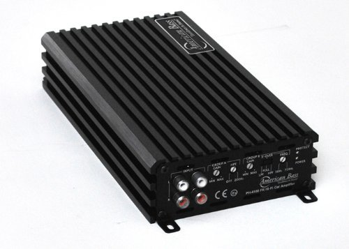 800w Bass - American Bass PH4100FR - 4 Channel 800W 2 OHM Stable Amplifier
