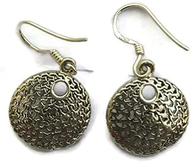 STYLISH STERLING SILVER EARRINGS SOLID 925 HANDMADE NEW