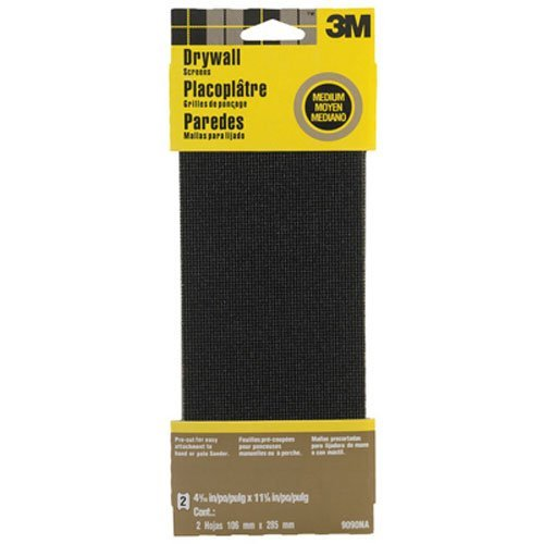 3m 9090na drywall sanding screen in x in 2 for Drywall delivery cost
