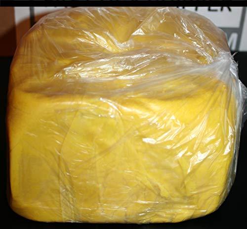 Pure African Yellow Shea Butter 5Lbs Premium 100 Natural Virgin RAW Organic Grade A Unrefined Ghana Skin Beauty Care Face Body Hair Scalp Non GMO 2.26Kg Karite by GREENandORGANIC