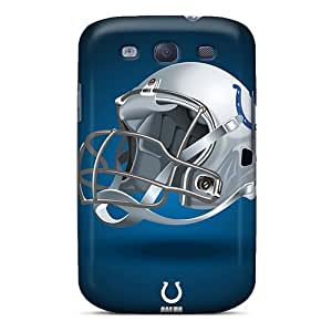 Protective Tpu Case With Fashion Design For Galaxy S3 (indianapolis Colts)