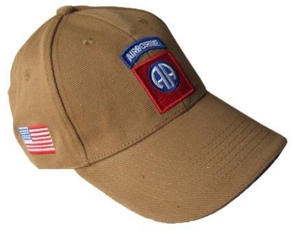 Epic Brown US 82nd Airborne Baseball Cap
