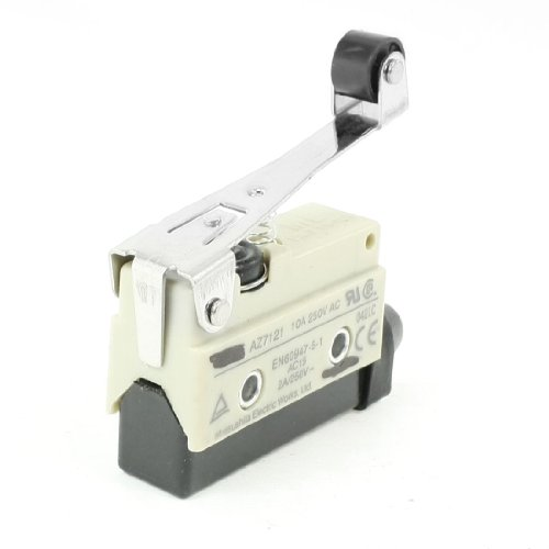 Enclosed Basic Switch (Uxcell AZ7121 10A Long Hinge Lever Enclosed Basic Limit Switch, SPDT, AC)