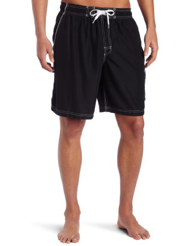 Speedo Men's Marina Core Basic Watershorts, Black, Large