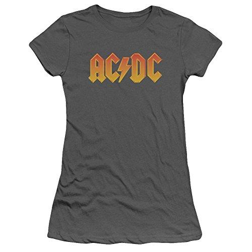 AC/DC - Classic Logo - Juniors T-Shirt - XL