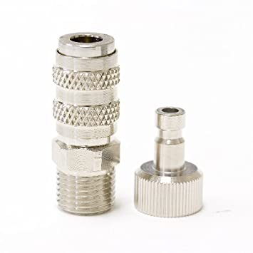 Grex AD3 Quick Connect Coupler and Plug for Grex Airbrush and Hose Coupler And Plug on hose and plug, plug and plug, ring and plug, cap and plug, cup and plug, coil and plug, wire and plug, screw and plug, cord and plug, jack and plug, lamp and plug, switch and plug,