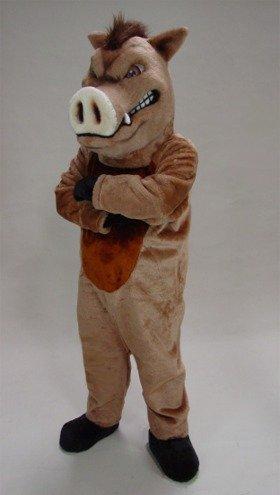 Wild Boar Mascot Costume -