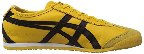 Onitsuka Tiger Mexico 66 - Zapatillas unisex Amarillo (Yellow / Black 490)