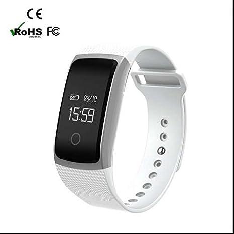 Pulsera de fitness, Smartwatch con libre llamada, SMS ...