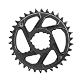 SRAM X-SYNC 2 Steel, Chainring, Teeth: 34, Speed: 11/12, BCD: Direct Mount, Single, Steel, Black
