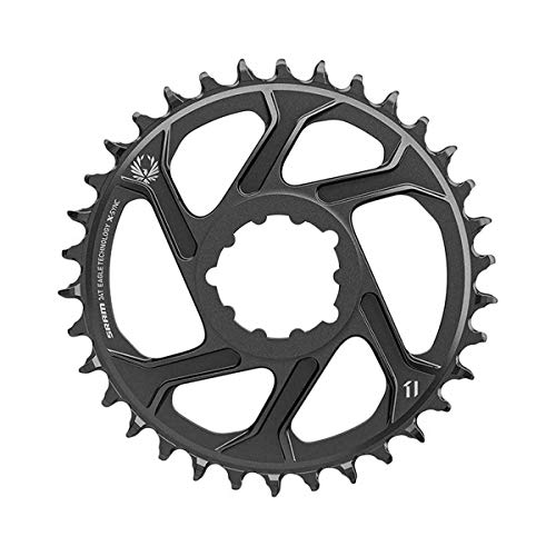 SRAM X-SYNC 2 Steel, Chainring, Teeth: 34, Speed: 11/12, BCD: Direct Mount, Single, Steel, Black by SRAM