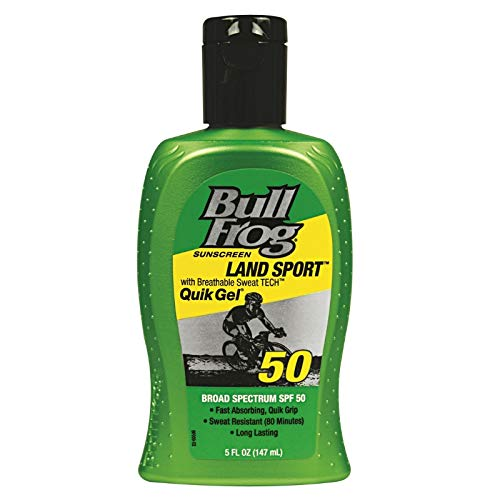 BullFrog Land Sport, Quik Gel Sunscreen SPF 50 5 ()