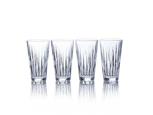 Mikasa Revel Highball Glasses, 14.5Ounce, Set of 4