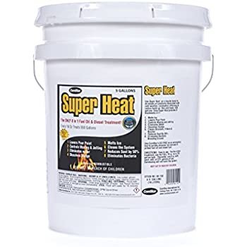 ComStar 60-150 Super Heat 8-In-1 Heating and Fuel Oil Treatment, 5 gallon