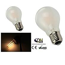 Modern LED Bulbs ONDENN E26/E27 6 W 6 COB 600 LM 2800-3200K K Warm White A Dimmable Globe Bulbs AC 220-240/AC 110-130 V , warm white