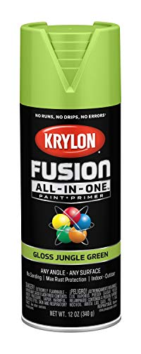 Krylon K02712007 Fusion All-in-One Spray Paint, Jungle Green
