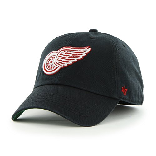 NHL Detroit Red Wings Franchise Fitted Hat, X-Large, Black