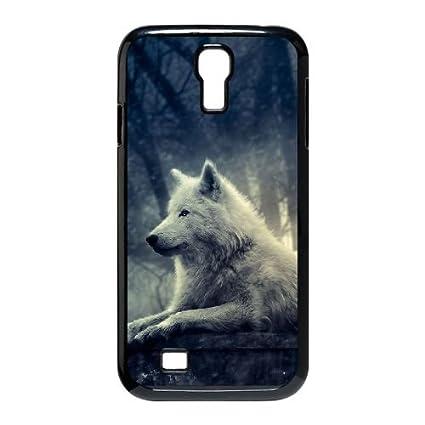 Amazon.com: Wolf - Funda para Samsung Galaxy S4 I9500 ...
