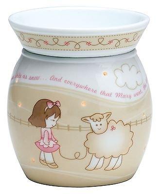 amazon com scentsy warmer little lamb baby decor night light