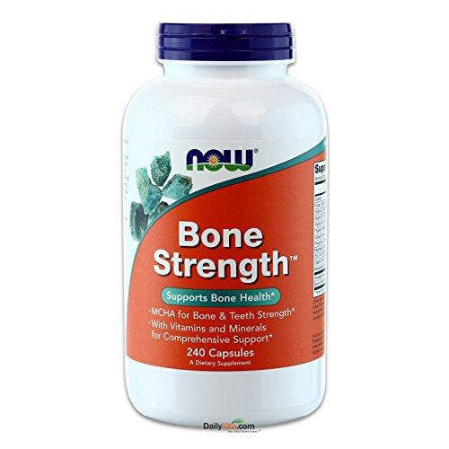 Bone Health (NOW Bone Strength,240 Capsules)