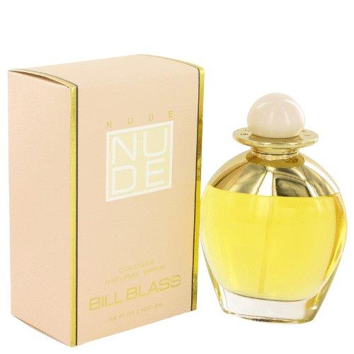 NUDE by Bill Blass Women's Eau De Cologne Spray 3.4 oz - 100% Authentic