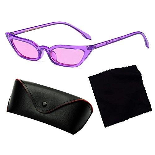 femelle de Frame Cat lunettes Eye coloré Clear C7 Juleya Mirror femmes soleil Sexy nuances ZW8PRnHIc