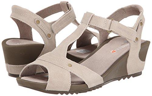 Merrell Women's Revalli Link Sandal,Simple Taupe,10 M US