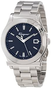 "Salvatore Ferragamo Men's F62LBQ9909 S099 ""Salvatore Ferragamo 1898"" Stainless Steel Dress Watch"