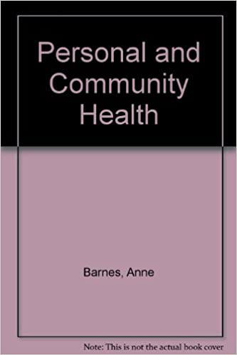 Personal and Community Health