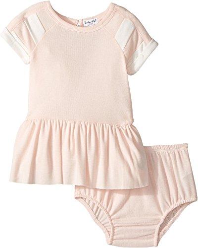 Splendid Littles Baby Girls Football Loose Knit Dress, Light Pink, 18-24 (Foot Ball Dress)