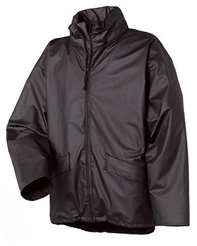 Helly Hansen Voss Wasserfeste Jacke Farbe = schwarz Größe = XL