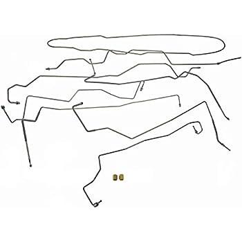 Amazon Com Dorman 919 244 Stainless Steel Brake Line Kit For Select