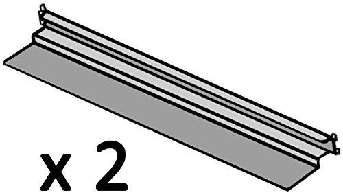 Hoshizaki HS-3557 Stainless Steel Bottom Support Universal Pan Slides (1 Pair)