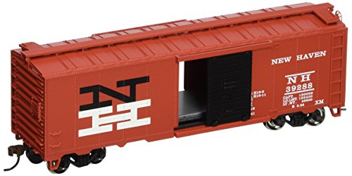 - Bachmann Trains New Haven-Red 40' Box Car-Ho Scale
