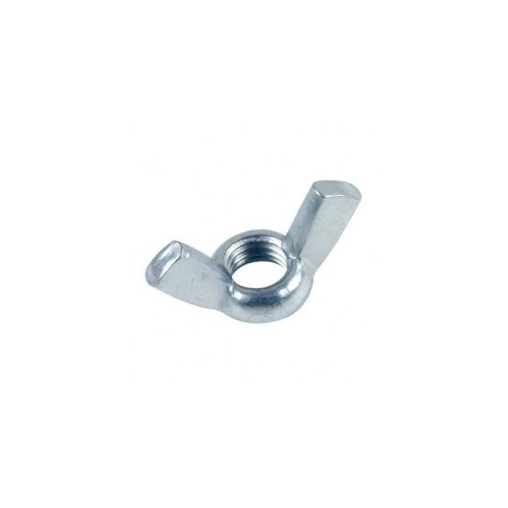 Diamwood - Ecrou à oreilles forme Américaine M 6 mm Zingué - Boite de 200 pcs - DIAMWOOD 11000602B