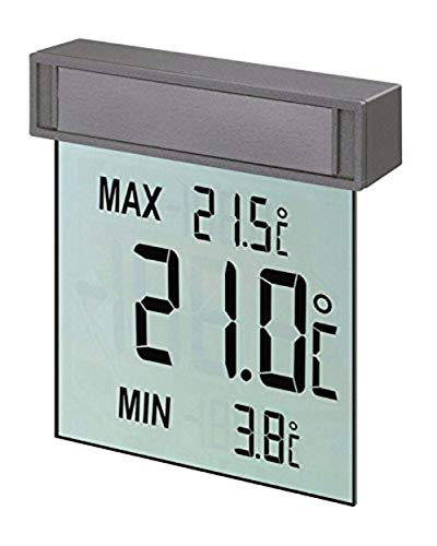 tfa dostmann vision digitales fensterthermometer gro es display mit ebay. Black Bedroom Furniture Sets. Home Design Ideas