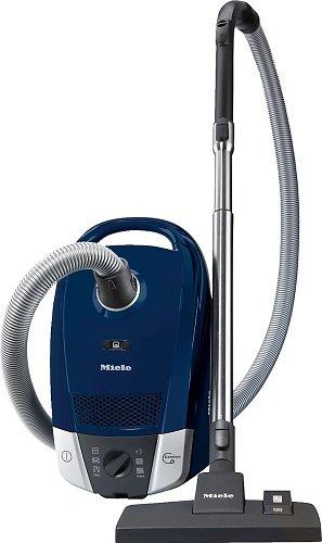 Miele Compact C2PowerLine Cylinder Vacuum Cleaner 3.5L Vacuum 1200W D Blue-(Cylinder Vacuum Cleaner, D, Dry, Home, Rug, Hard Floor, (B)