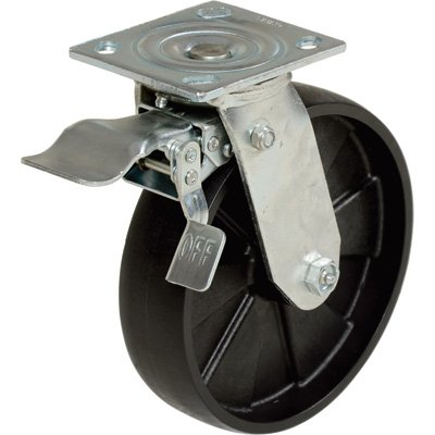IHS AHS-6/8-TLC Total Locking Caster for 6000 and 8000 lbs Capacity Steel Gantry Crane by IHS